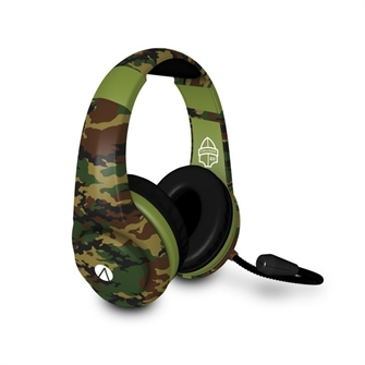 Image of Stealth - XP Cruiser Multiformat Gaming Headset (Woodland Camouflage) (5055269709305)
