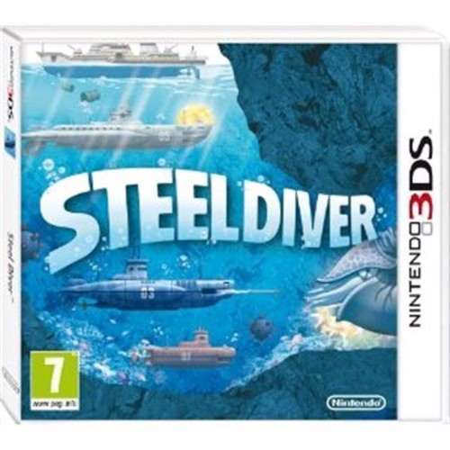 Image of Steel Diver - Nintendo 3Ds (0045496520663)
