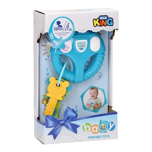 Image of Baby rat med nøgler, blå