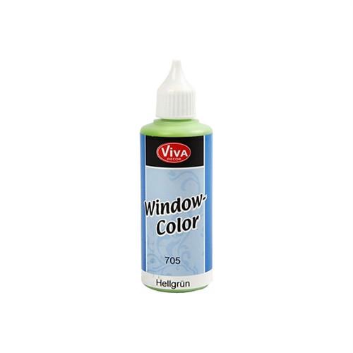 Image of Klister og glasmaling, lys grøn 80 ml