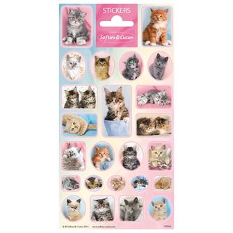 Image of Sticker Cutie Kittens (8718274286717)