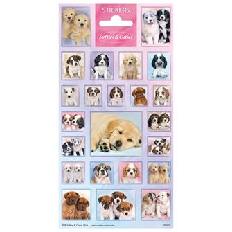 Image of Sticker Cutie Puppies (8718274286700)
