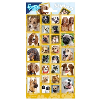 Image of Sticker sheet Dogs (8718819313663)
