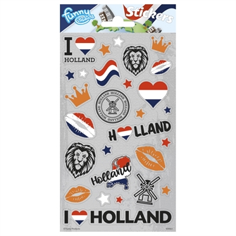Image of Sticker sheet Holland (8718819313625)