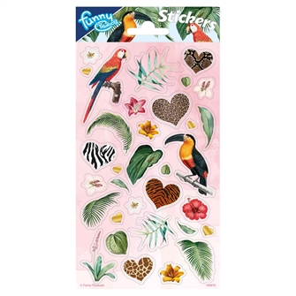 Image of Sticker sheet Jungle (8718819313694)