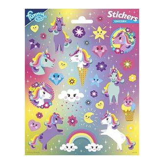 Image of Sticker sheet Unicorn (8718819313724)