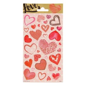 Image of Sticker Twinkle - Hearts (8718819311294)