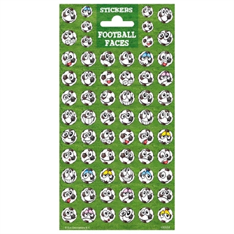 Image of Sticker Twinkle - Soccer Faces (8718274285345)