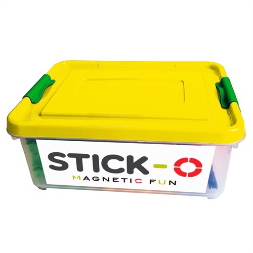 Image of Stick-O School Box 56 in 1 - Yellow (5425002308568)