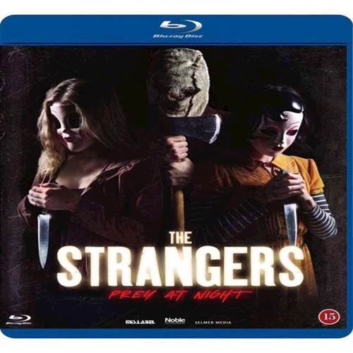 Image of Strangers, The Prey At Night Blu-Ray (5705535062435)