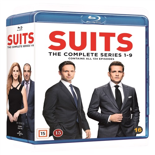 Image of Suits Complete Series - Blu-ray (5053083211042)