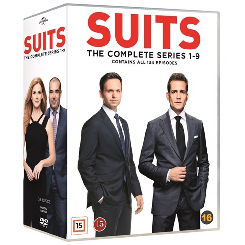 Image of Suits Complete Series - DVD (5053083211035)