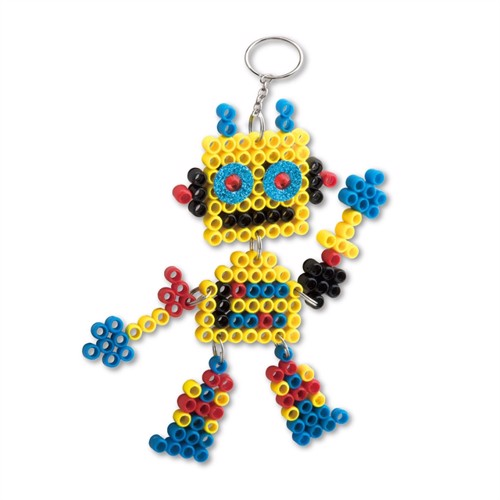 Image of Nøglering, super beads robot
