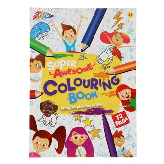 Image of Super Coloring Book (8715427063508)