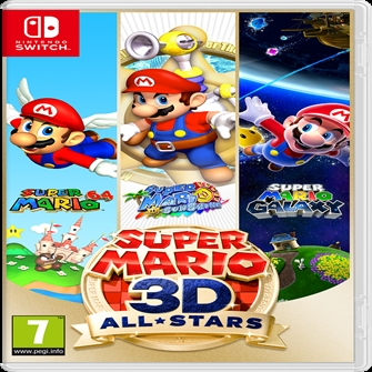 Image of Super Mario 3D All-Stars (0045496426729)