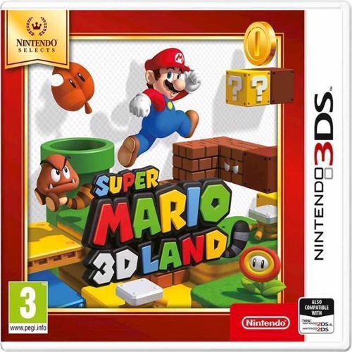 Image of Super Mario 3D Land Select - Nintendo 3DS (0045496476571)