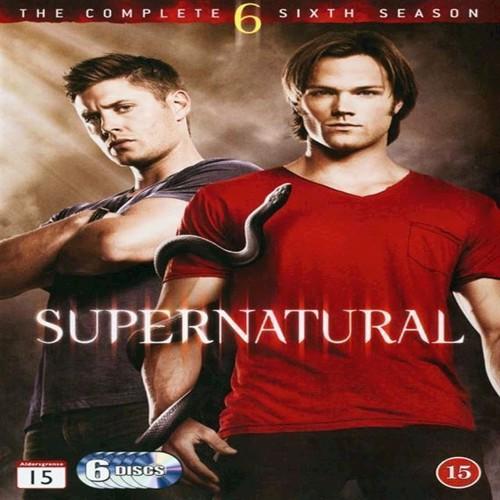 Image of Supernatural Sæson 6 DVD (5051895086384)