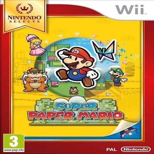 Image of Super Paper Mario Select - Wii (0045496366308)