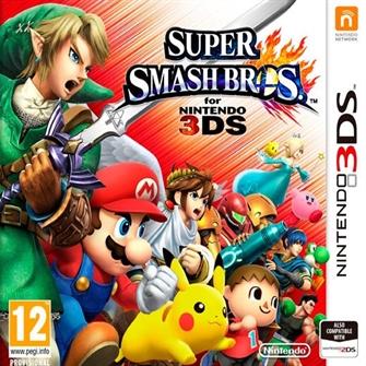 Image of Super Smash Bros - Nintendo 3Ds (0045496526276)
