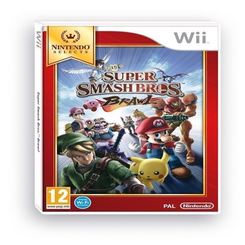 Image of Super Smash Bros Brawl Selects - Wii (0045496402051)