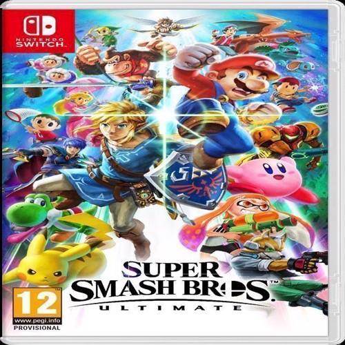 Image of Super Smash Bros Ultimate - Nintendo Switch (0045496422899)