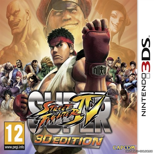 Image of Super Street Fighter IV: 3D Edition (Italian Box - EFIGS In Game) (0045496520496)