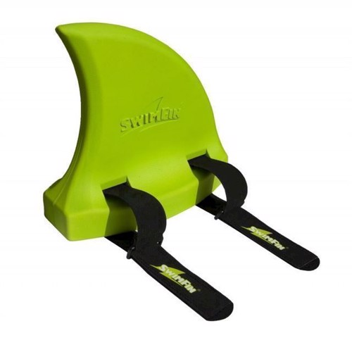 Image of Svømmebælte, hajfinne, SwimFin, grøn (5060167440281)