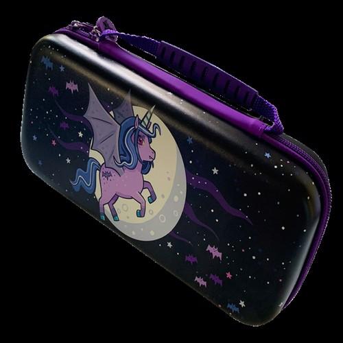 Image of Switch Lite Moonlight Unicorn Case Purple/Violet - Nintendo Switch (5060176365285)