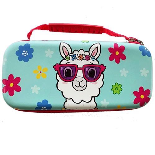 Image of Switch Llama Case Cyan - Nintendo Switch (5060176365131)