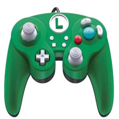 Image of Nintendo Switch Smash Pad Pro Luigi Controller Med Ledning (0708056065348)