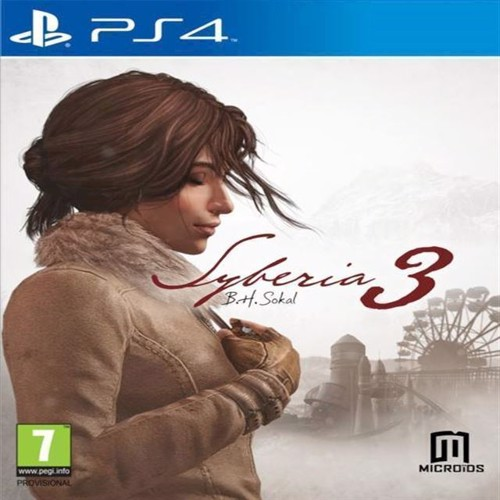 Image of Syberia 3 - PS4 (3760156480879)