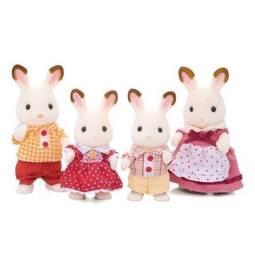 Image of Sylvanian Families chokolade kanin familie (8711915031257)