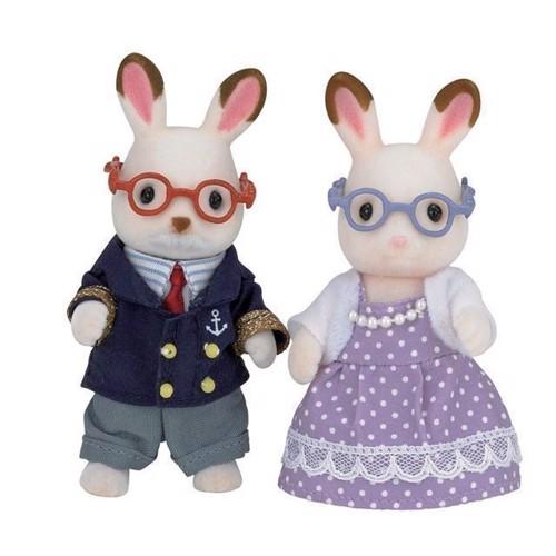 Image of Sylvanian Families - Chokolade kanin, bedste forældre (5054131051900)