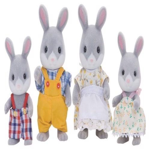 Image of Sylvanian Families - Bommuldshale kaniner, familie (5054131040300)