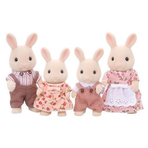 Image of Sylvanian Families mælke kanin familie (8718637031442)