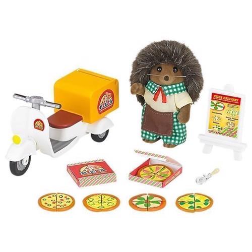 Image of Sylvanian Families pizza leveringssæt (5054131052389)