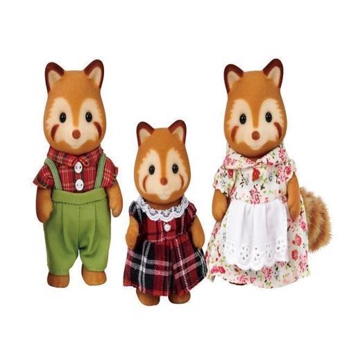 Image of Sylvanian Families - rød panda familie (5054131052150)