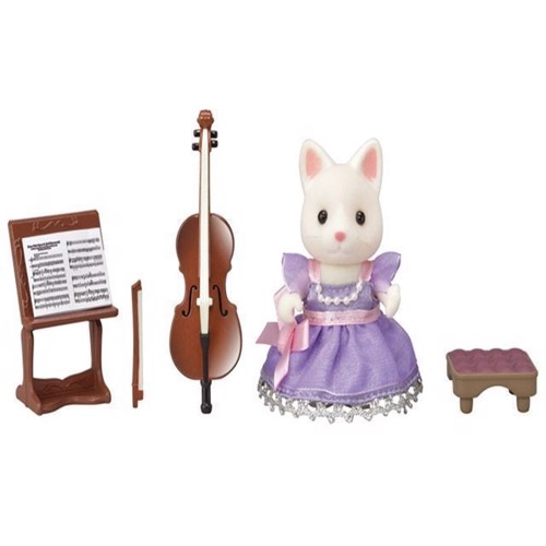 Image of Sylvanian Families, Town Girl, Cello koncert sæt (5054131060100)