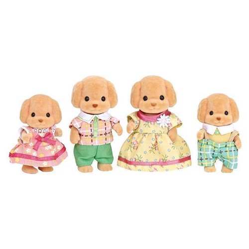 Image of Sylvanian Families, puddel familie (5054131052594)