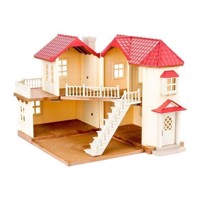 Sylvanian Families - Byhus med lys - Egernly