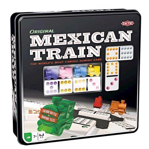 Image of Tactic - Mexican Train spil