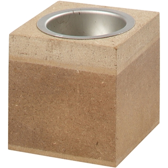 Image of Tea light holder Wood, 6cm (5707167871355)