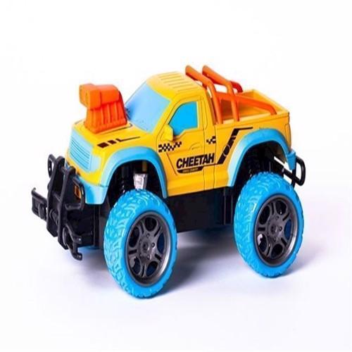 Image of Fjernstyret bil, Techtoys Gallop Beast Rapidly 118 gul blå