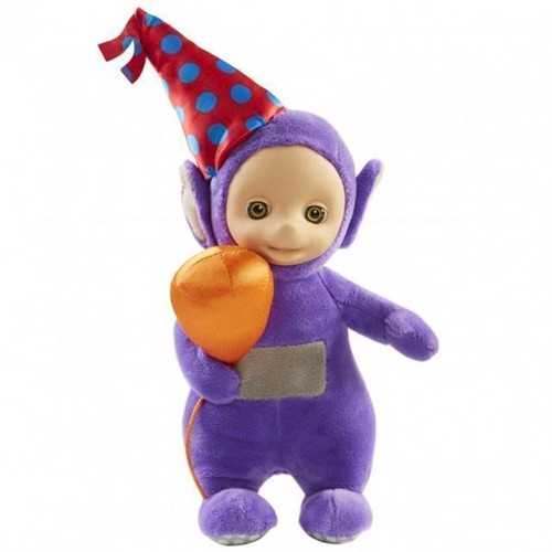 Image of   Teletubbies - Party bamse 20cm - Tinky Winky