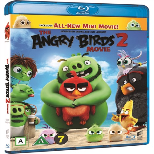 The Angry Birds Movie 2 , Blu-ray