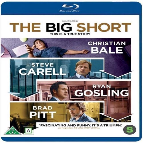 Image of The Big Short Blu-ray (7340112727239)