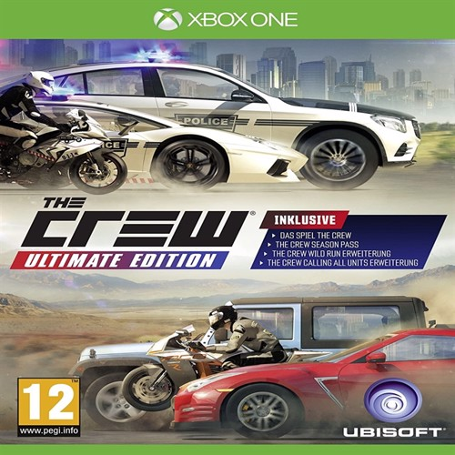 Image of The Crew - Ultimate Edition (FR) - XBOX ONE (3307215982402)