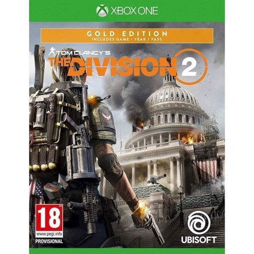 Image of The Division 2 Gold Edition - PS4 (3307216072591)
