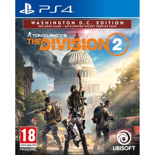Image of The Division 2: Washington D.C Edition - PS4 (3307216099628)