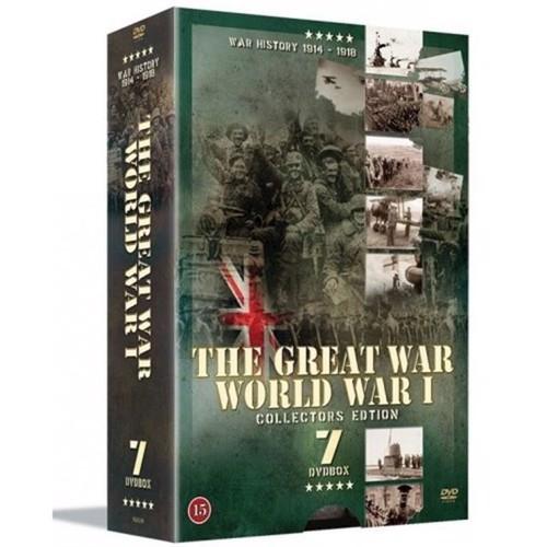 Image of The Great War World War 1 7disc DVD (5709165001024)
